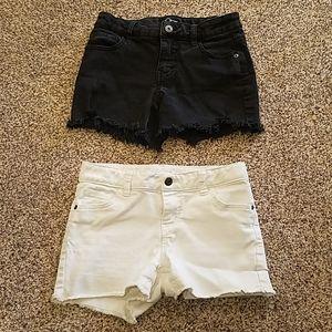Girls L (10/12) cut off shorts
